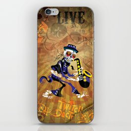 Winston - Sax. The Twitch Doctors iPhone Skin