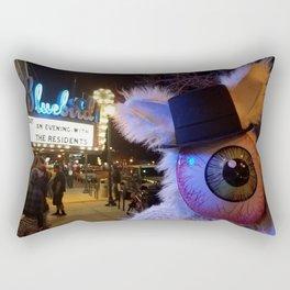 nobunny loves the Residents Rectangular Pillow