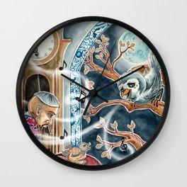 The Nightingale Series - 7 of 8 Wall Clock