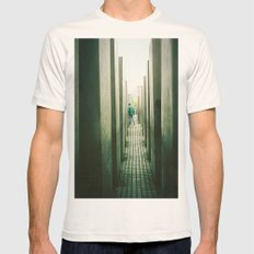 Haunt Natural SMALL Mens Fitted Tee