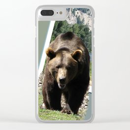 Grizzly Bear in Sawtooth National Forest Clear iPhone Case