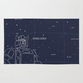 Bumblee Star Chart Rug