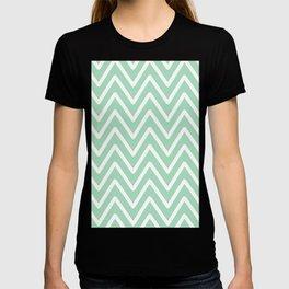 Chevron Wave Mint T-shirt