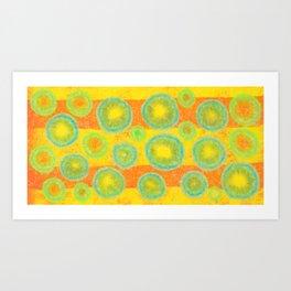 Fantasy balls Art Print