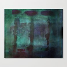Abstract - Silhouette Canvas Print