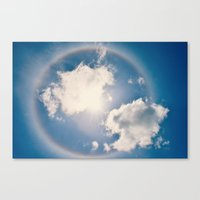 halo Canvas Prints featuring Halo by RDelean