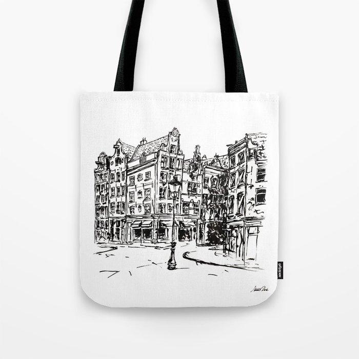 Urban Inkscape 2 Amsterdam Tote Bag