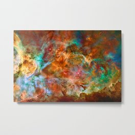 Carina Nebula Space Beauty Metal Print
