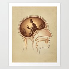 Mind Reader Art Print