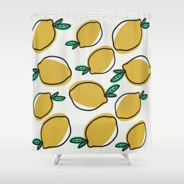 You're the zest! Shower Curtain