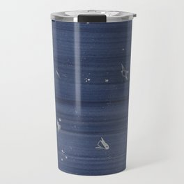 blue space Travel Mug
