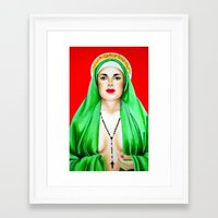 religious Framed Art Prints featuring Religious by Paintings by Callie Prado