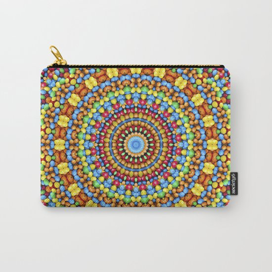 Kaleidoscope Candy Carry-All Pouch