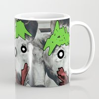 pigs Mugs featuring pigs by blaf