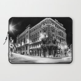 Night in the city Laptop Sleeve