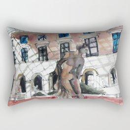 Paris Sketchbook Rectangular Pillow