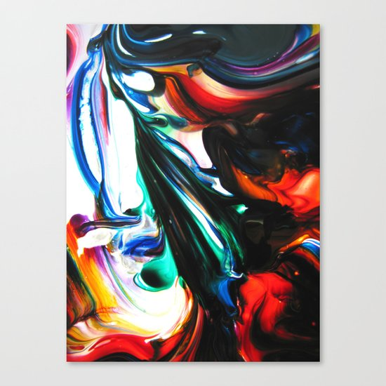 fixed fluidity Canvas Print