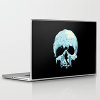 silent Laptop & iPad Skins featuring Silent Wave by Huebucket