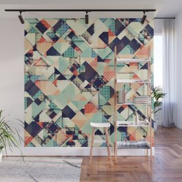 Jumble of Colors And Texture Wall Mural