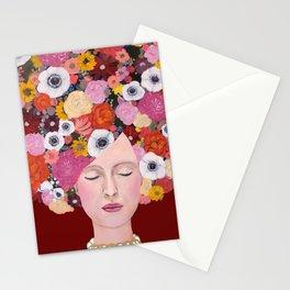 mes pensées Stationery Cards