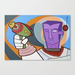 He-Ray Canvas Print