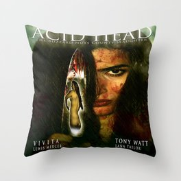 Acid Head: The Buzzard Nuts County Slaughter (2011)' - Movie Poster Throw Pillow