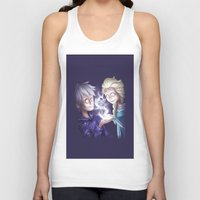 jack frost Tank Tops featuring Frost Buddies by TheCakeIsSisley