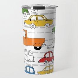 Busy Traffic Pattern Travel Mug