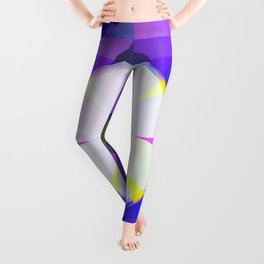 March Compass Flower Leggings