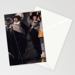Jacob Willemsz Delff the Younger - Portrait of the officers of the Witte Vendel of Delft Stationery Cards