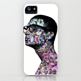 Floral prince iPhone Case