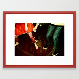 my capacity for happiness (nightlife I) Framed Art Print