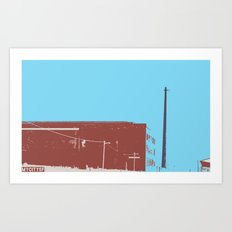 Old Industry Art Print