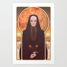 Reverend Mother Art Print