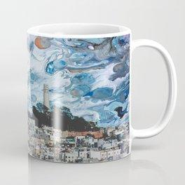 Starry Coit Tower Coffee Mug