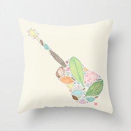 Let your Guitar Sing Throw Pillow