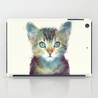 marine iPad Cases featuring Cat // Aware by Amy Hamilton