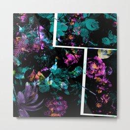 Power Floral Metal Print