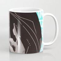 biggie smalls Mugs featuring Biggie Smalls by Art By Ariel Cruz