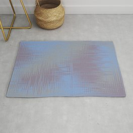 Blue Grey Design Rug