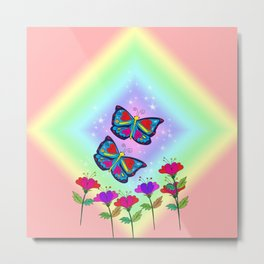 Love like a butterfly Metal Print