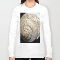 ghost in the shell Long Sleeve T-shirts featuring Shell by Brian Raggatt
