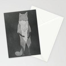 Fox Fur Stationery Cards