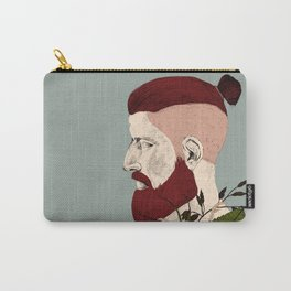 Rendered In Hipster Carry-All Pouch