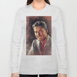 Errol Flynn, Hollywood Legend Long Sleeve T-shirt