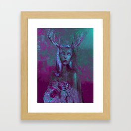 Fawn (Alternative Version) Framed Art Print