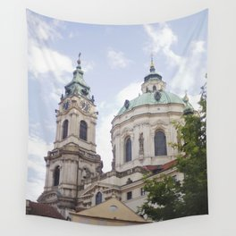 Church in Prague Wall Tapestry