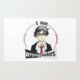 I See Wrong-Siders Rug