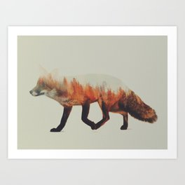Norwegian Woods: The Fox Art Print