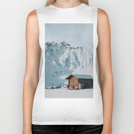 Hello Winter - Landscape and Nature Photography Biker Tank